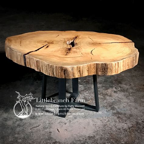 rustic live edge dining table rustic dining table live edge wood slabs littlebranch farm