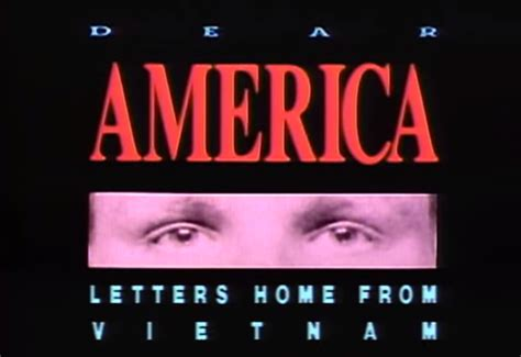 the peabody awards dear america letters home from
