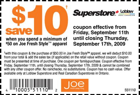 coupons canadian superstore