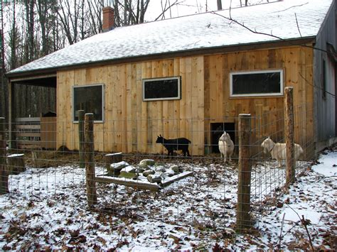 The Goat Shed by Our Small Farm In The Woods The Goat Barn