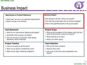 Opportunity Statement Template by Ng Bb 06 Project Charter