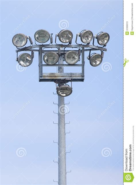 Outdoor Stadium Lights Stock Photos Image 31036313 Outdoor Field Lighting