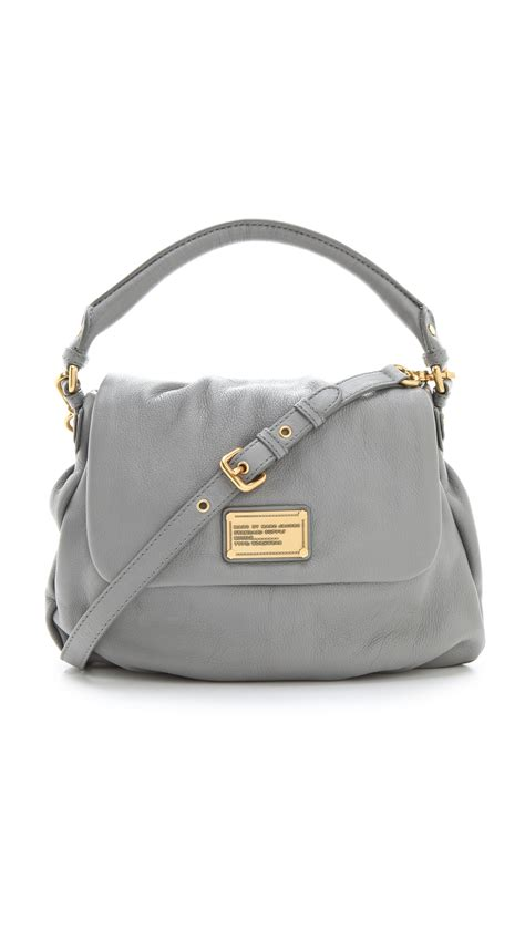 10 Coolest Marc Bags by Marc By Marc Classic Q Lil Ukita Bag In Gray Lyst