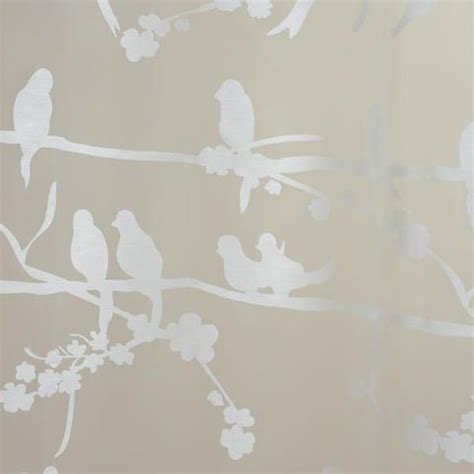 sheer curtains with birds birds on branch sheer burnout curtain world market