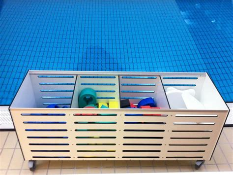 Table Locks Storage Cabinets For Towels Swimming Belts Flippers