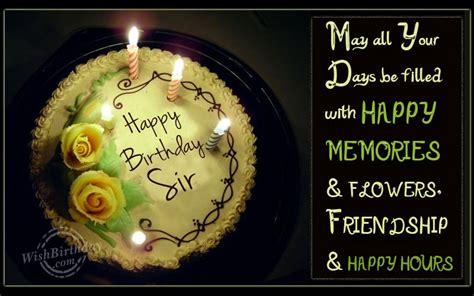 Wish You Happy Birthday Sir Happy Birthday Sir Wishbirthday Com