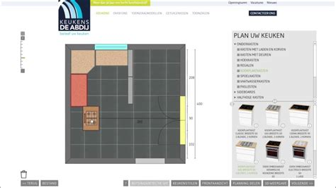 keukens de abdij keukenplanner de online keukenplanner van keukens de abdij youtube