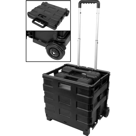 box cart folding toolbox box trolley 380 x 310 x 330mm toolstation