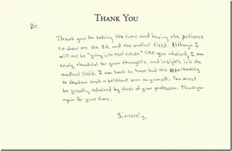 Thank You Note Quotes Business Sle Thank You Notes