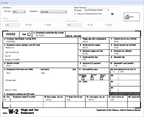 Printable W2 Form 2016 Form Resume Exles 96z38blzv0 2016 W2 Form Template