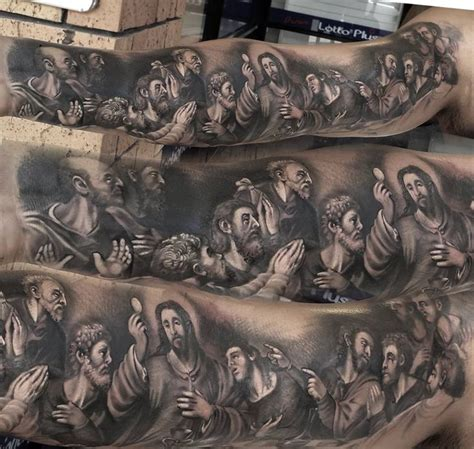 last supper tattoo last supper ideas suppers