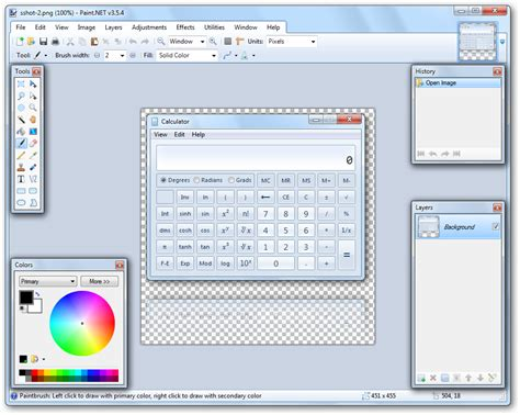 beginners guide to image transparency part 1 posting screenshots on the web ntwind software