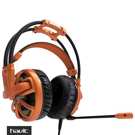 Headphone Mic Headset Earphone Laptop Komputer Gaming Havit Hv H2188d havit 174 hv zh1300 professional pc headset with build in 50mm microphone passive noise canceling