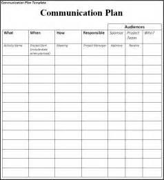Communication plan communication plan matrix sample giputb6v