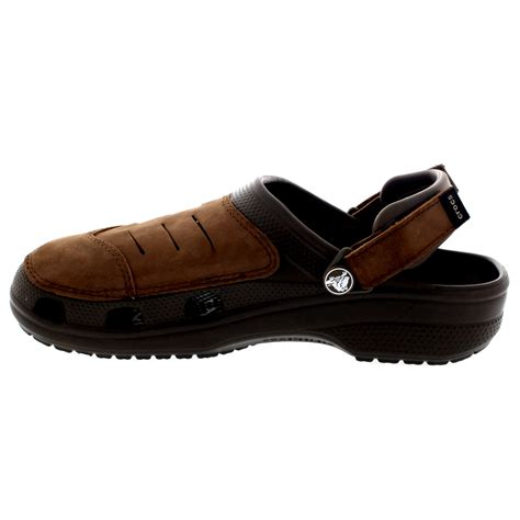 slip on clogs for mens crocs yukon slip on lightweight casual clogs