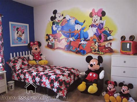 mickey mouse decorations for bedroom animation characters for kid s room d 233 cor home trendy