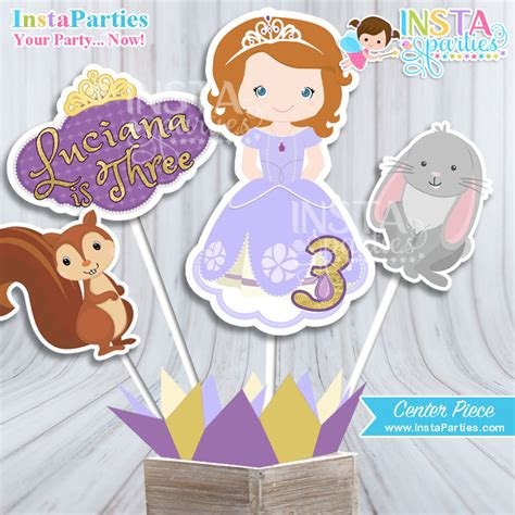 sofia the centerpiece princess sofia centerpieces birthday sofia