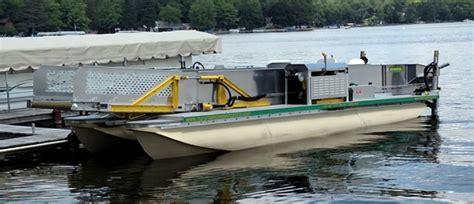 plastic pontoons plastic pontoons photos marine transporter go getter