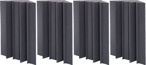 Cbt Maroon Atiqah Set 4in1 auralex acoustics lenrd bass traps charcoal 4 thomann