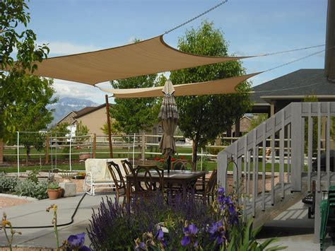 sun shade covers over patio   side yards   Pinterest