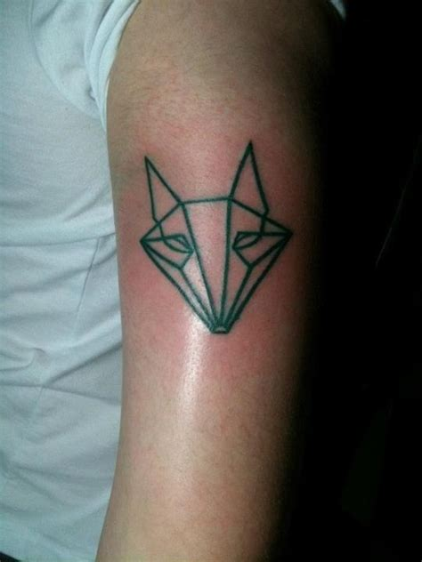 geometric tattoo san jose fox green tattoo geometric tattoo pinterest