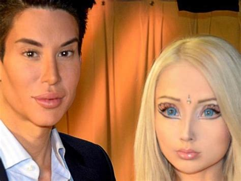valeria lukyanova and ken human barbie and ken human barbie pinterest barbie