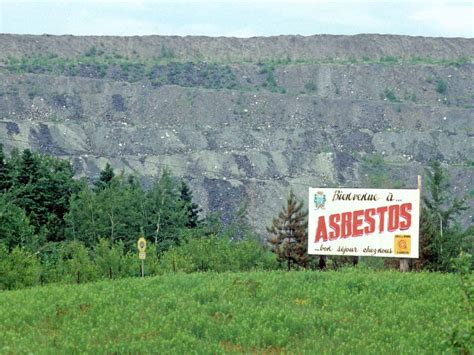 mesothelioma clinical trials in canada asbestos mining town in canada searches for new identity