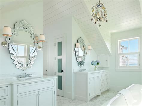 Nantucket Style Bathrooms by Surfside Chic Nantucket Style Bathroom Boston