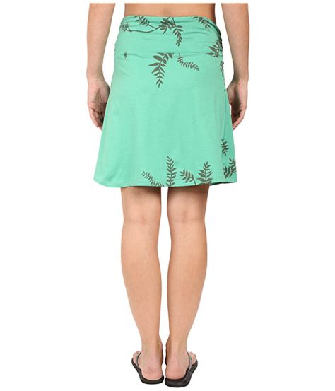 awning skirt toad co twila skirt green awning foliage print 6pm com