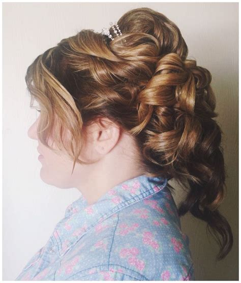 romantic updo for inverted triangle 88 best images about i m a hairstylist on pinterest