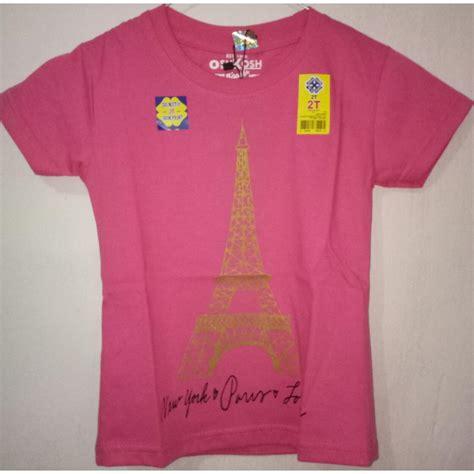 T Shirt Anak Oshkosh kazel tshirt penguin edition 5 6yr baju bayi sd balita