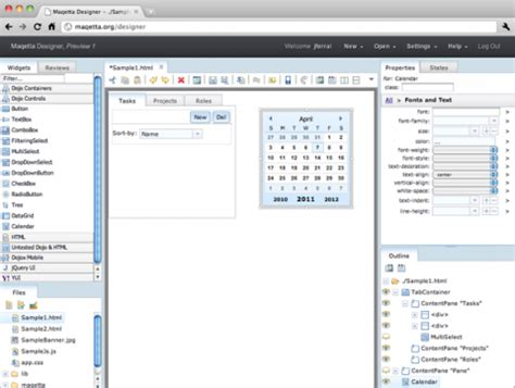 Layout Editor Html5 | maqetta ibm ver 246 ffentlicht html5 editor als open source