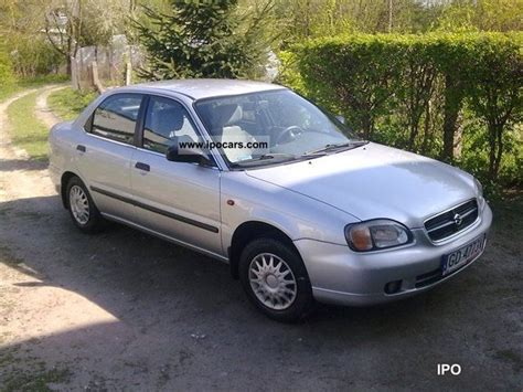 Suzuki Baleno 1999 Specs 1999 Suzuki Baleno Car Photo And Specs