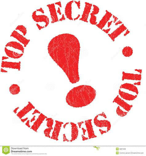 secret free top secret rubber st royalty free stock images image