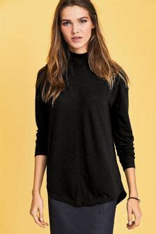 Korean Style Highneck Knitwear Blouse Sleeve Okc95 oversized sweaters uk
