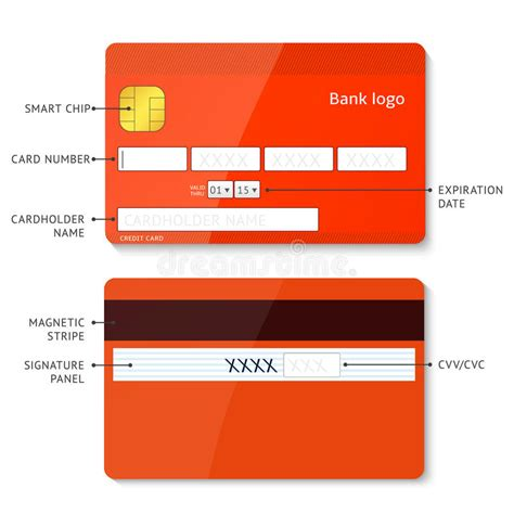 credit card payment website template credit card payment stock vector illustration of layout