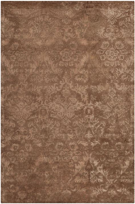 brown damask rug brown damask rug rugs ideas