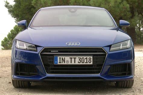 Audi Tt Kaufberatung by Video Audi Tt 2014 Autobild De