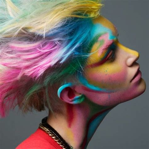 hairstyles crazy color 26 best wild hair images on pinterest colourful hair