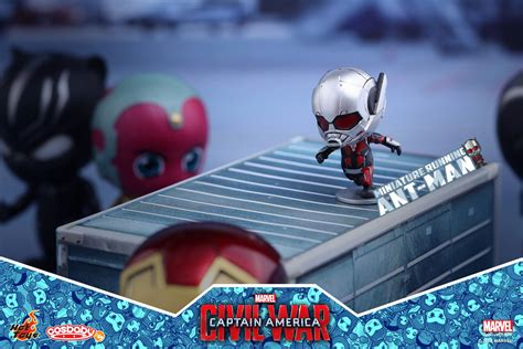 Cosbaby Set Of 5 Civil War New Misb toys cosbaby figure revealed photos