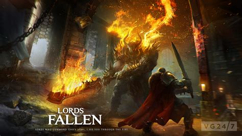 lords   fallen video features  hulking brute