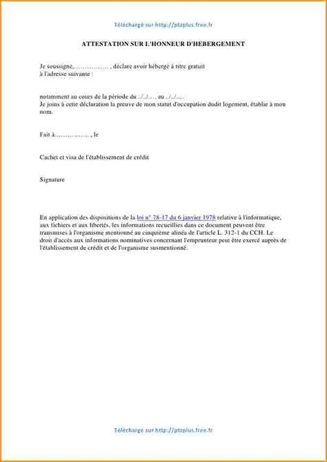 Lettre Demande De Visa Business 8 Lettre Attestation H 233 Bergement Lettre De Demission