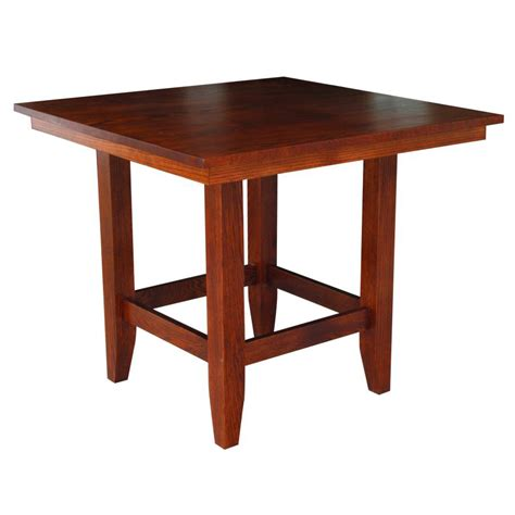 Pub Bar Table Manhattan Pub Table Amish Crafted Furniture
