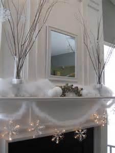 that my snowy mantel