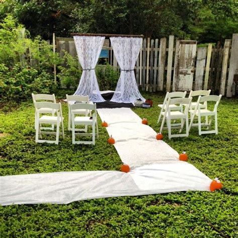 small backyard wedding ceremony the 25 best small backyard weddings ideas on pinterest