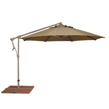 Side Patio Umbrella by Cantilever Umbrella 10 Ft Side Post