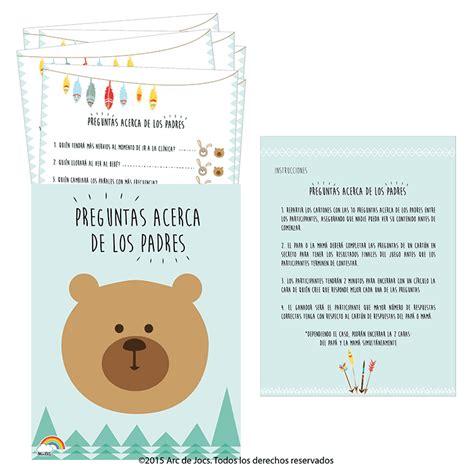 preguntas juego baby shower juegos para baby shower ohlal 225 celebraciones filtrado