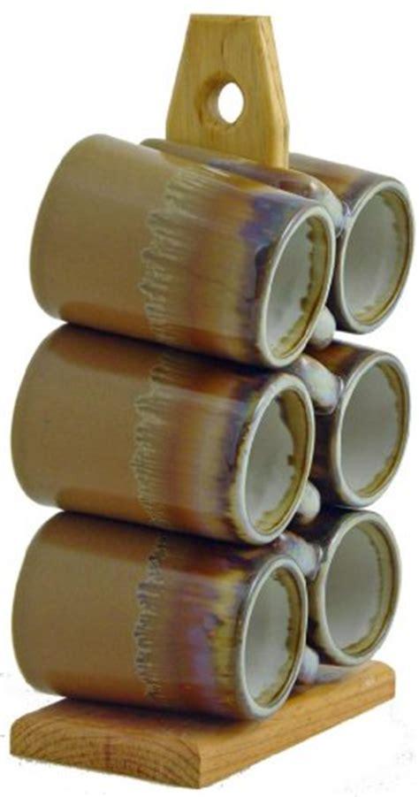 Padilla 6 Cup Coffee Mug Tree   FindGift.com
