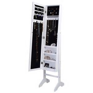 Jewelry Box Armoire Mirror Mirrored Jewelry Cabinet Mirror Organizer Armoire Storage
