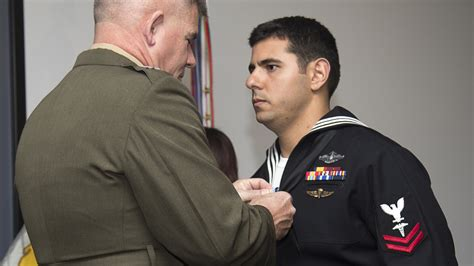 Marsoc Officer by Marsoc Corpsman Awarded Silver Gt The Official United